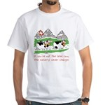 The Lead Cow White T-Shirt