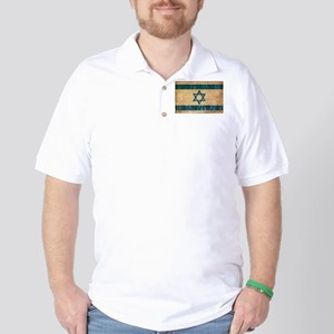 Israel Flag Golf Shirt