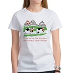 The Lead Cow Women's T-Shirt