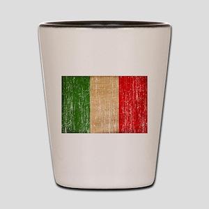 Italy Flag Shot Glass