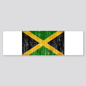 Jamaica Flag Sticker (Bumper)