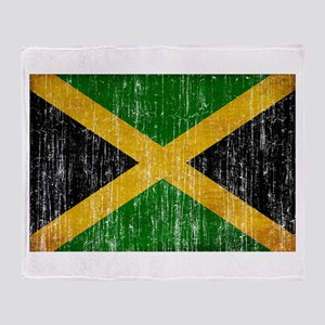 Jamaica Flag Throw Blanket