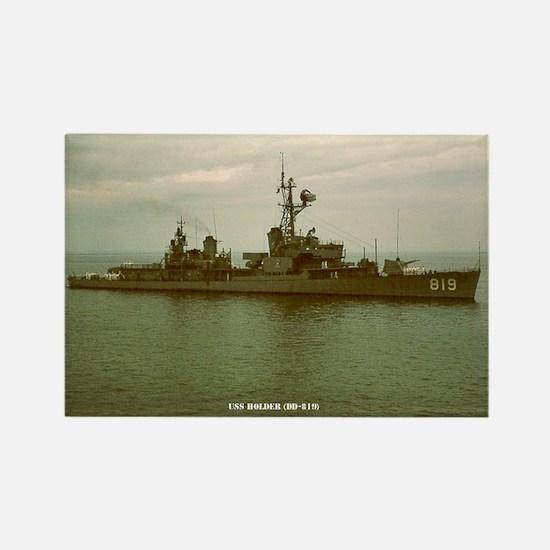 USS HOLDER Rectangle Magnet