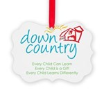 Down Country Picture Ornament
