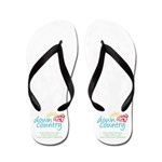 Down Country Flip Flops