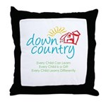 Down Country Throw Pillow