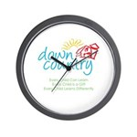 Down Country Wall Clock