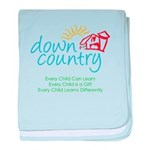 Down Country baby blanket