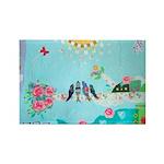 Bird Family Collage Art Rectangle Magnet (100 pack