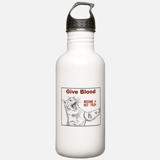 Give Blood tech Water Bottle