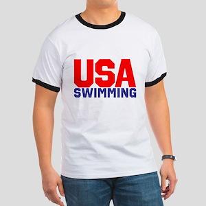 Team USA Ringer T