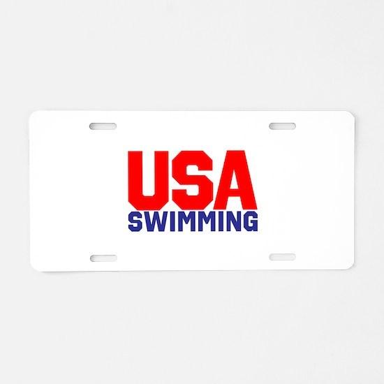 Team USA Aluminum License Plate