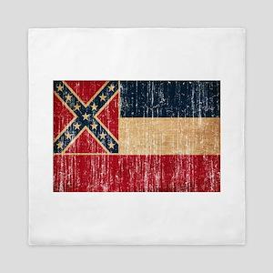 Mississippi Flag Queen Duvet
