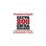 Sagra Sticker (Rectangle 50 pk)