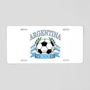 Argentina Soccer designs Aluminum License Plate