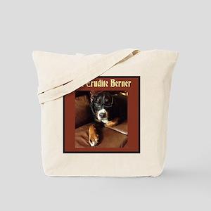 Erudite Berner Tote Bag