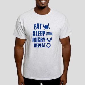 Eat Sleep Rugby Light T-Shirt