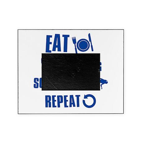 Eat Sleep Scuba Dive Picture Frame