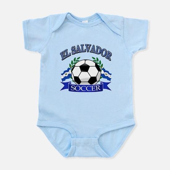 El Salvador Soccer designs Infant Bodysuit