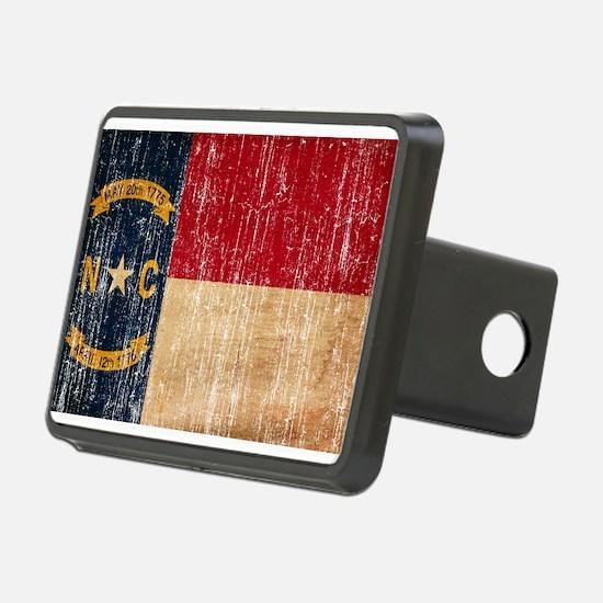 North Carolina Flag Hitch Cover