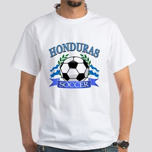 Honduras Soccer designs White T-Shirt
