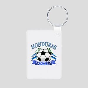 Honduras Soccer designs Aluminum Photo Keychain