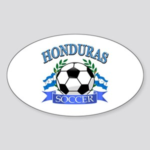 Honduras Soccer designs Sticker (Oval)