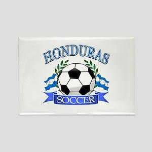 Honduras Soccer designs Rectangle Magnet