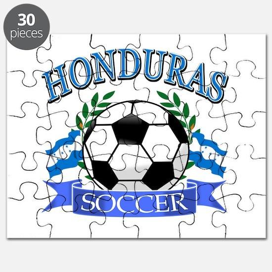 Honduras Soccer designs Puzzle