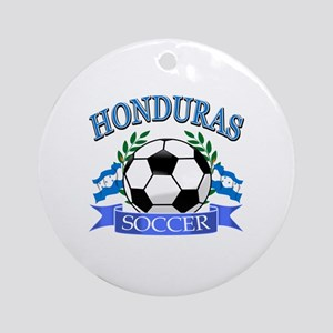 Honduras Soccer designs Ornament (Round)