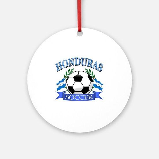 Honduras Soccer designs Ornament (Round)