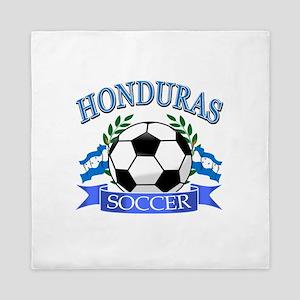 Honduras Soccer designs Queen Duvet