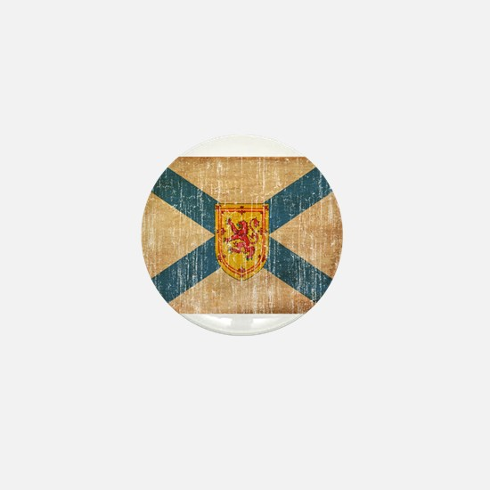 """Nova Scotia Flag Mini Button"