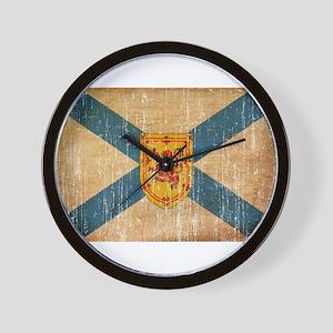 """""""Nova Scotia Flag Wall Clock"""