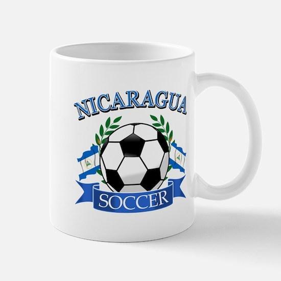 Nicaragua Soccer designs Mug