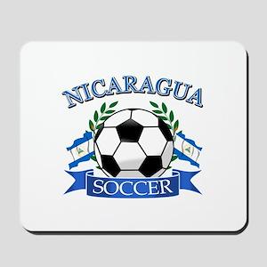 Nicaragua Soccer designs Mousepad