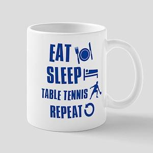 Eat Sleep Table Tennis Mug