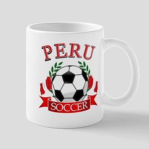 Peru Soccer designs Mug