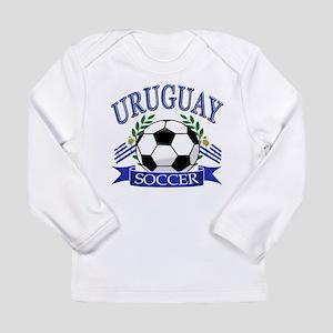 d47a0f146 Uruguay Soccer designs Long Sleeve Infant T-Shirt
