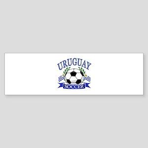 Uruguay Soccer designs Sticker (Bumper)