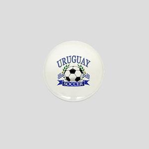 Uruguay Soccer designs Mini Button