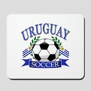 Uruguay Soccer designs Mousepad