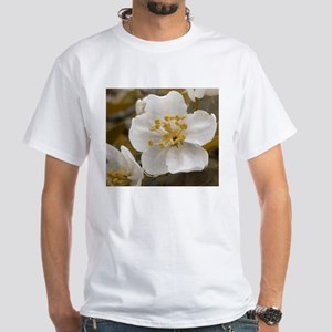 Antique Apple Blossom White T-Shirt