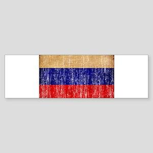 Russia Flag Sticker (Bumper)
