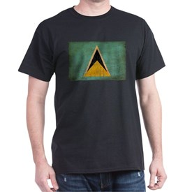 Saint Lucia Flag T-Shirt