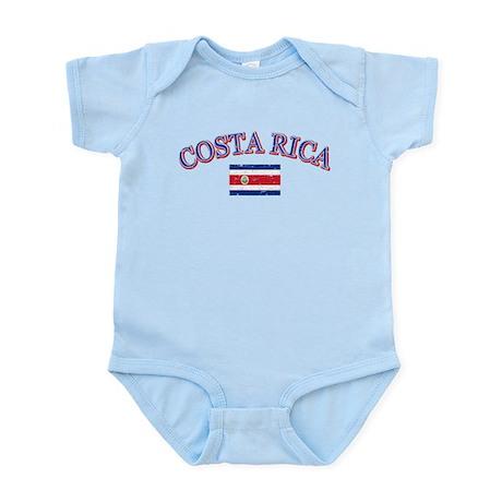 Costa Rica Soccer designs Infant Bodysuit