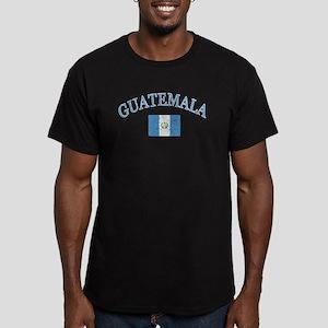 Guatemala Soccer designs Men's Fitted T-Shirt (dar