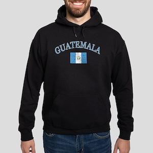 Guatemala Soccer designs Hoodie (dark)