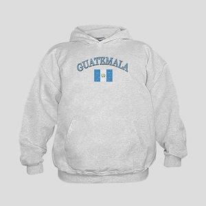 Guatemala Soccer designs Kids Hoodie