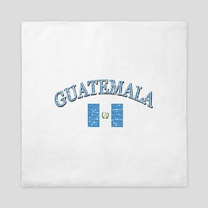 Guatemala Soccer designs Queen Duvet